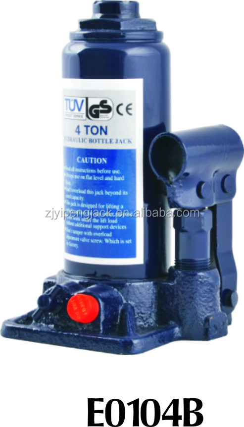 hydraulc bottle jack with CE TUV GS from yipeng machinery