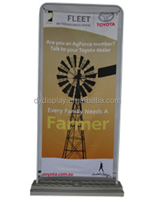 Plastic Outdoor Advertising Waterbox Hanging Banner Stand
