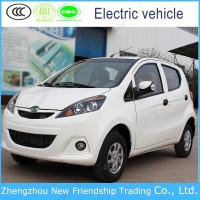 EEC approval high speed smart 4 seater electric car with ac