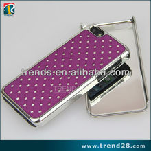 marketing and promotional materials hard pc diamond case for iphone 5c