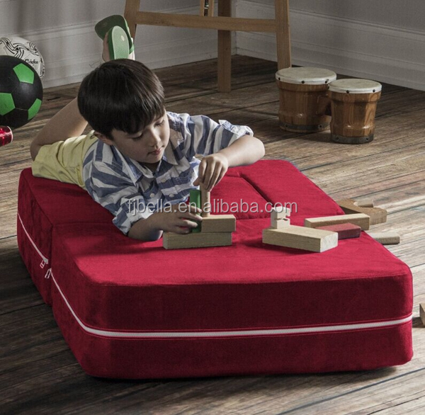 3 in 1 with Ottoman & Mattress & Table Convertible Kids Flip Chair