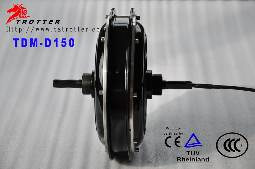 changzhou trotter power 500w Electric Bicycle HUB DC Motor with Ce certification