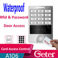waterproof 125khz Rfid Card reader with metal keypad