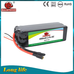booster super capacity lithium battery dedicated 4500mah 37v