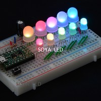 Integrated WS2811 5mm RGB pixel LED