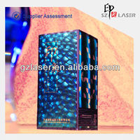 Hologram plastic pet heat resistant wrapping film for wine box