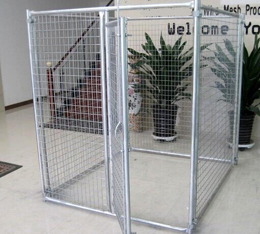wholesale 5'x10'x6'ft welded wire panel outdoor dog kennels and runs for sale