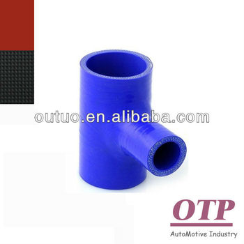 Universal silicone hose T hose T coupler