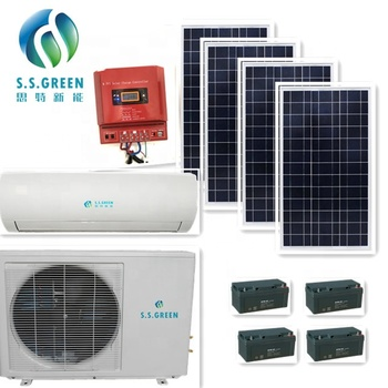 air conditioner 18000Btu 100% 48V DC solar energy product