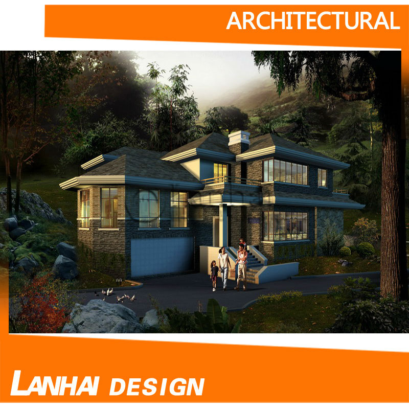 Modern Home Plan Luxury Villa Design