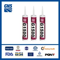 General Purpose adhesive glue acid cured silicone glass glue