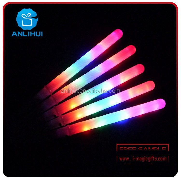 Party supplier Concert led accessories led flashing foam light wand