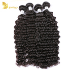 10A Wholesale Human Hair Virgin Deep Wave Brazilian Hair Weft