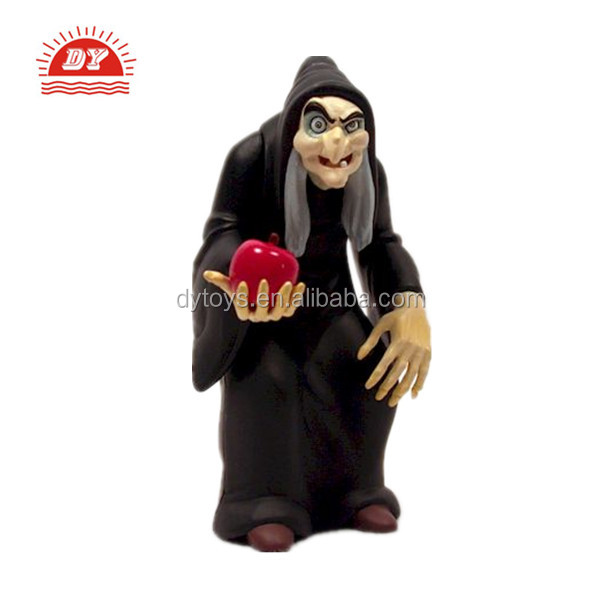 ICTI certificated custom made halloween plastic toys witch dolls