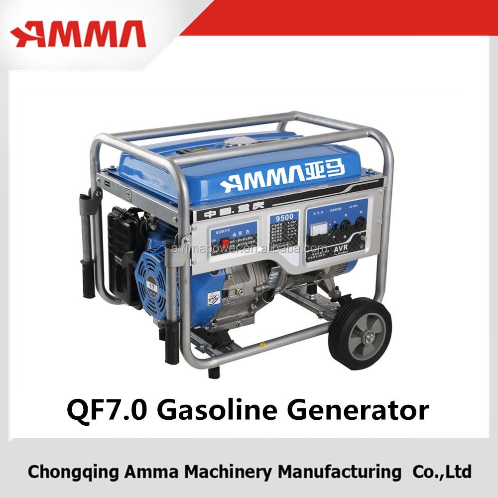 2016 state-of-the-art structure with made of metal gasoline generatorer has low investment of AMMA
