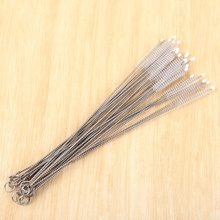 Durable Straw Cleaning <strong>Brush</strong> Stainless Steel Wash Drinking Pipe Straw <strong>Brushes</strong> <strong>Brush</strong> Cleaner