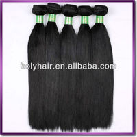 Brazilian Virgin Hair 6A Silky Straight Strong Double Weft Human Hair Extension with Top Quality