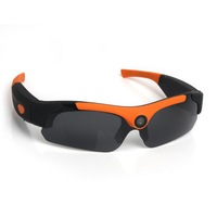 CE FCC 1080P HD Polarized 120 degree Wide Angle Hidden Spy camera sunglasses with Memory Card