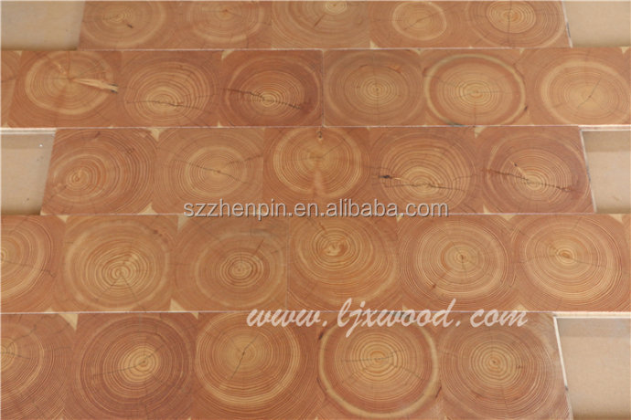 end grain wood flooring blocks