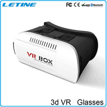 2016 hot selling vr 3d glasses for smartphones with HD Optical Resin Lens,support 3D video, Special Gamepad control