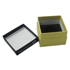 Wholesale Cheap Luxury Design Black Cardboard Die Cut Paper Favor Watch Boxes