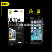 HOT Anti-fingerprint self-recovery self-healing High clear screen protector for iphone 5S