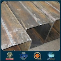 Black square welded steel pipe ASTM A500 Hollow Section