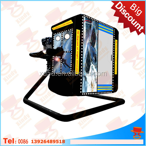 wow thrilling Canton Fair 360 degree flight/automobile simulator amusement park rides with 3d movies hot sale