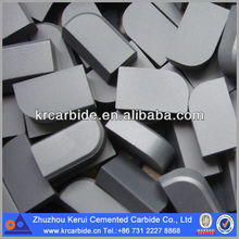 Tungsten carbide ISO brazed tips