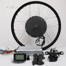 70KM/H electric bike kit 3000W electric hub motor for motorcycle DIY e bike conversion kit BLDC gearless high speed motor.