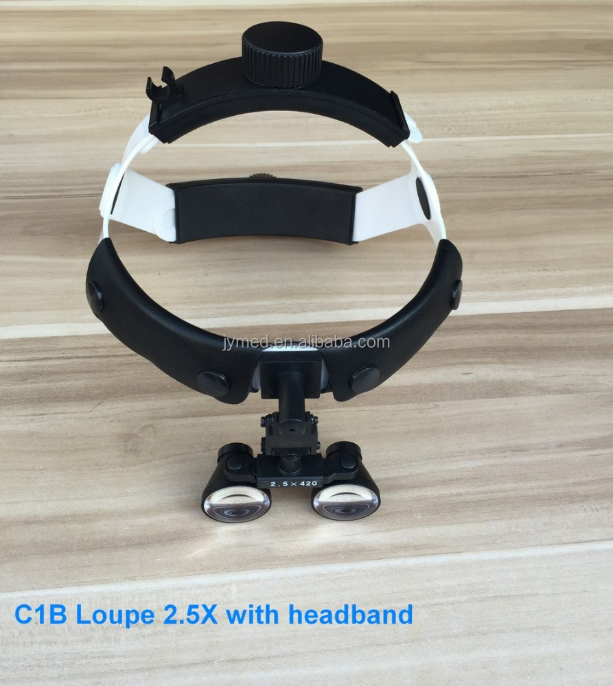 2.5x dental surgical head magnifying loupes