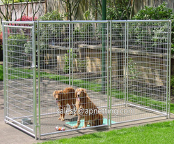 Height 1.84m Mesh Dog Run Panels Door Right Galvanised