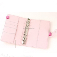 PU Leather Soft Notebook Original Personal Diary Week Planner Cover
