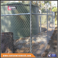 High quality Galvanized chain link /used chain link fence for sale