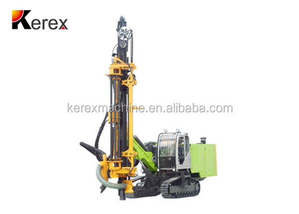 hot model KRK450 28m depth crawler Integrated stone drilling machine