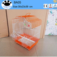 2016 new pet products wire mesh front bird cage