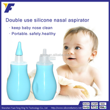 Safety Baby Healthcare BPA Free Silicone Vacuum Baby Mucus Nasal Aspirator