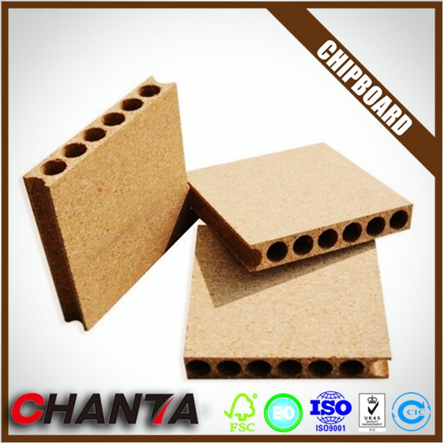 Brand new hollow core particle board tubular chipboard for door core For Poland market