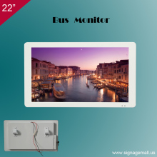 Bems 22 inch wall mounted bus tv player