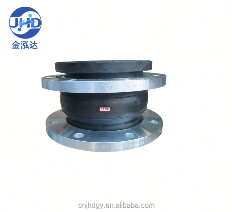 Latest Hot Selling!! Excellent Quality flexible single ball epdm double-sphere flanged rubber expansion joints with good offer