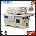 Automatic high speed wood door machine for straight cutting