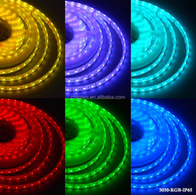 SMD 5050 RGB ip65 glue dropped waterproof LED Flexible Strip Light