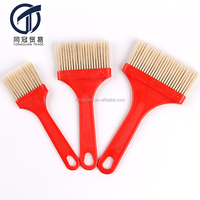 "2"" 3"" 4"" Synthetic Fiber Paint Brush with red handle"