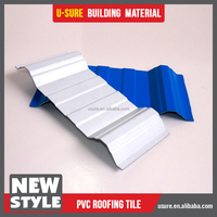 pvc chinese temple roof tiles artificial grass for roof