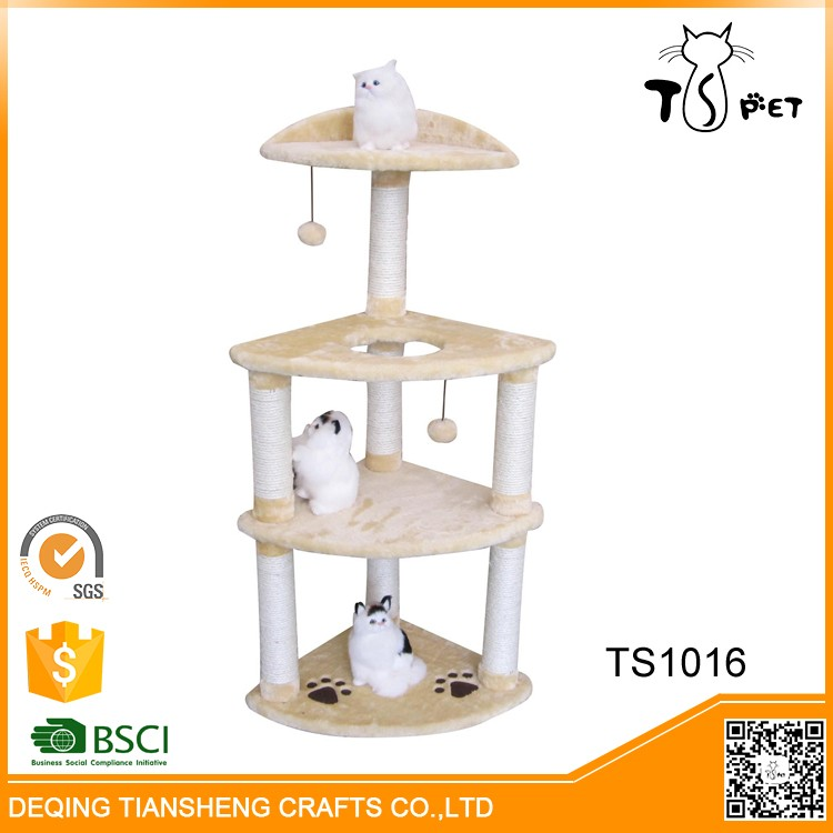 Activity Centre Bed Toys Kitten Pet Protect Cat Tree Houses