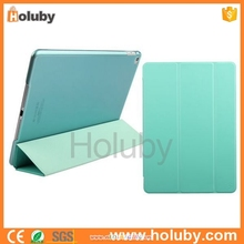 2015 Top quality Super slim genuine leather cover for ipad air 2 case for ipad