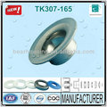 Bearing Chock 2014 hot sale high polish and Passed ISO9001-2008 TK307-165 Material Industry Pressed Idler Roller Housing