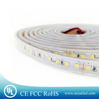UL Listed Nonwaterproof 7.2W/FT 36LED 792LM Per Foot 16.4FT Roll 80RA CRI Pure White 6000K 24V LED 2835 SMD LED Strip Light