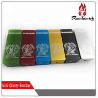 2015 new product 18650 batter holder box mod vape mini Cherry Bomber box mod