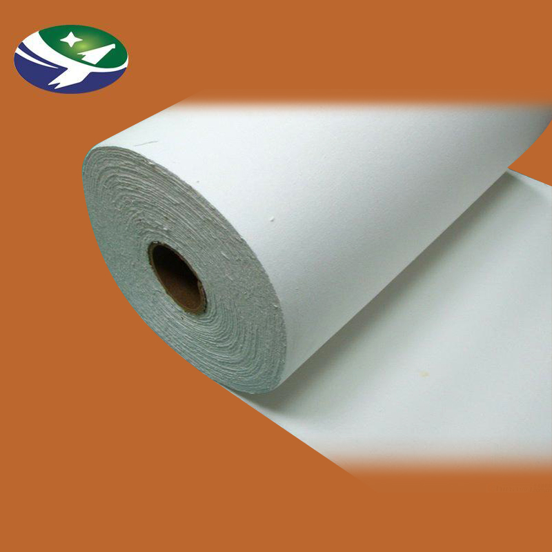 ceramic wool fireproof keep warm insulation paper